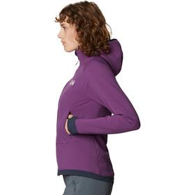 Mountain Hardwear Keele Ascent Sudadera Capucha Mujer, violeta
